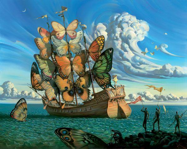 Dali Esque Surrealist Art By Vladimir Kush Russia