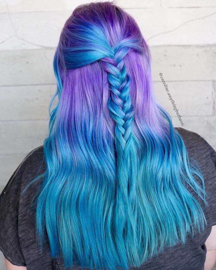 Mermaid Hair Trend Has Women Dyeing Hair Into Sea