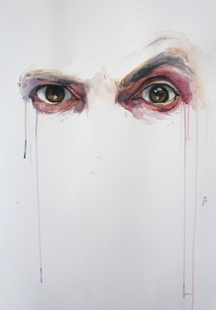 Alluring Watercolor Paintings Prove That Eyes Are Windows
