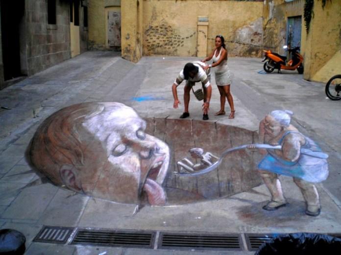 Street Art by Eduardo Rolero
