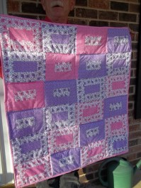 Baby Quilt for Sandi & Haskell's Granddaughter Stella