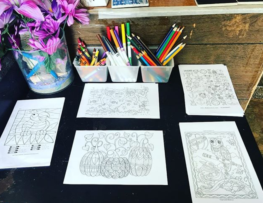 coloring pages at Lazy Hummingbird