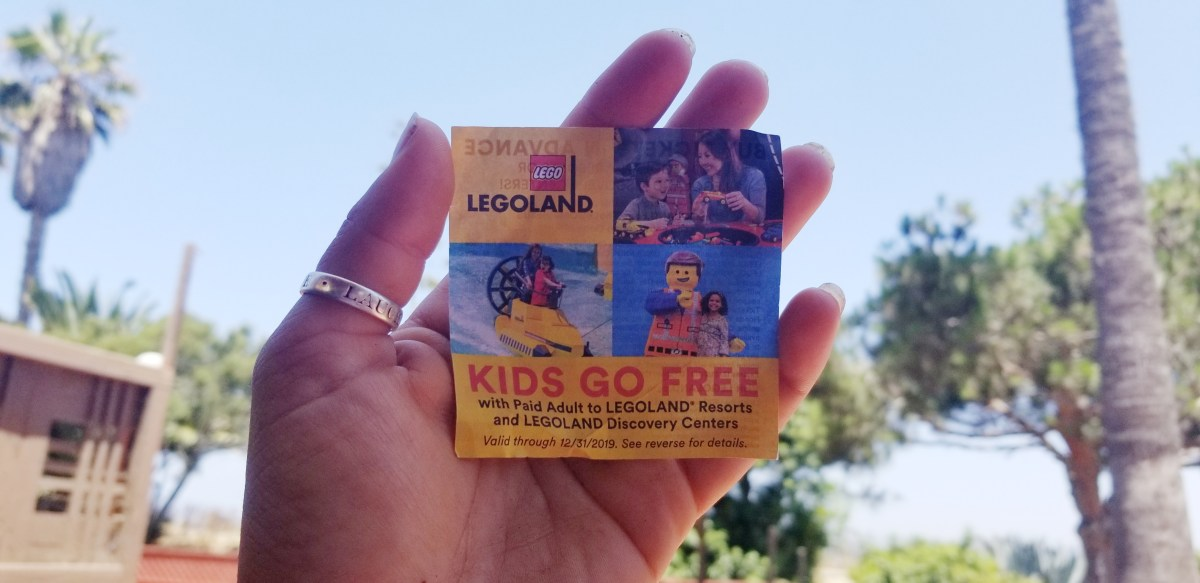 LegoLand Ticket