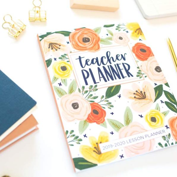 planner for teacher organization