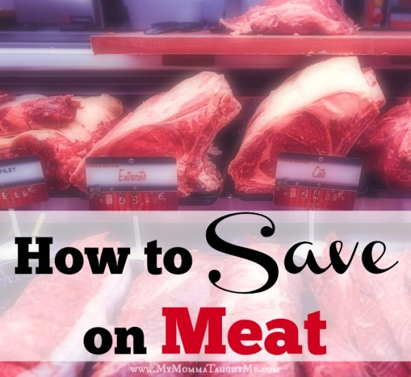 Hot to Save on Meat