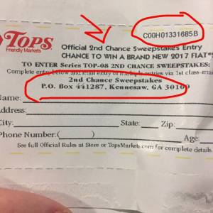 2nd Chance Tickets For Monopoly Tops Game