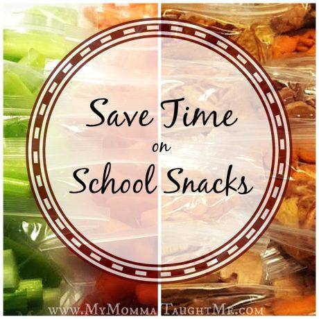 SaveTimeonSchoolSnacks