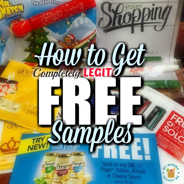 How To Get Completely Legit Free Samples