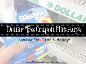 Dollar Tree Coupon Matchups
