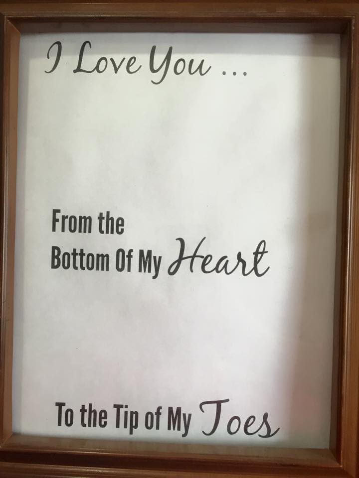 Free Printable Quot I Love You From The Bottom Of My Heart To