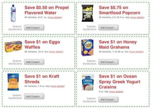 Tops Store Coupons from Monopoly Game