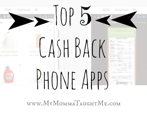 Top 5 Cash Back Apps