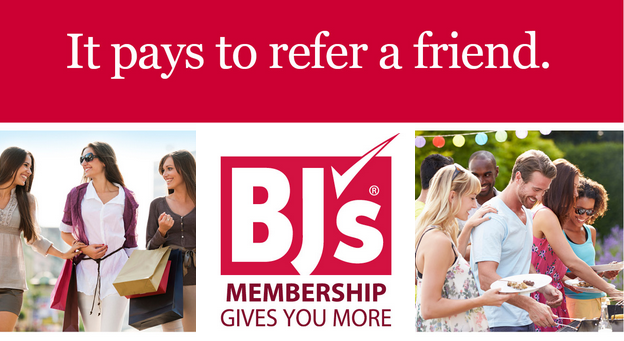 Bj's Referral $10 gift card