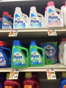 Purex Laundry Detergent - BOGO $4.99 at Tops markets