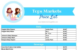 Tops Price List Logo