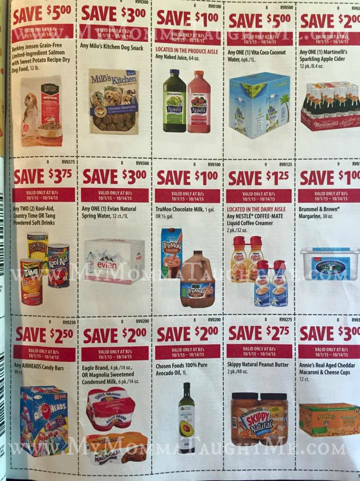 BjS Wholesale Club View Front Of The Store Coupon Flyer Valid