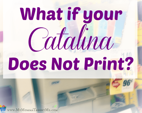 what if catalina does not print