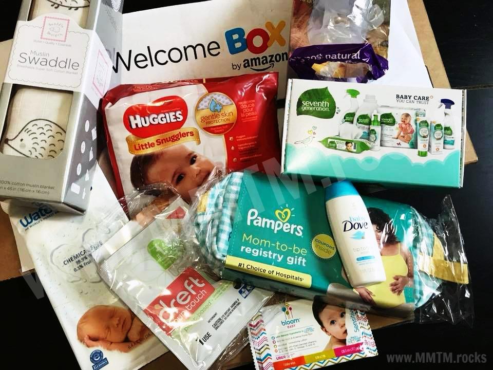 Amazon Welcome Baby Boxes