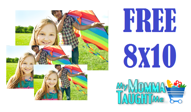 Today Only - FREE 8x10 Photo Print