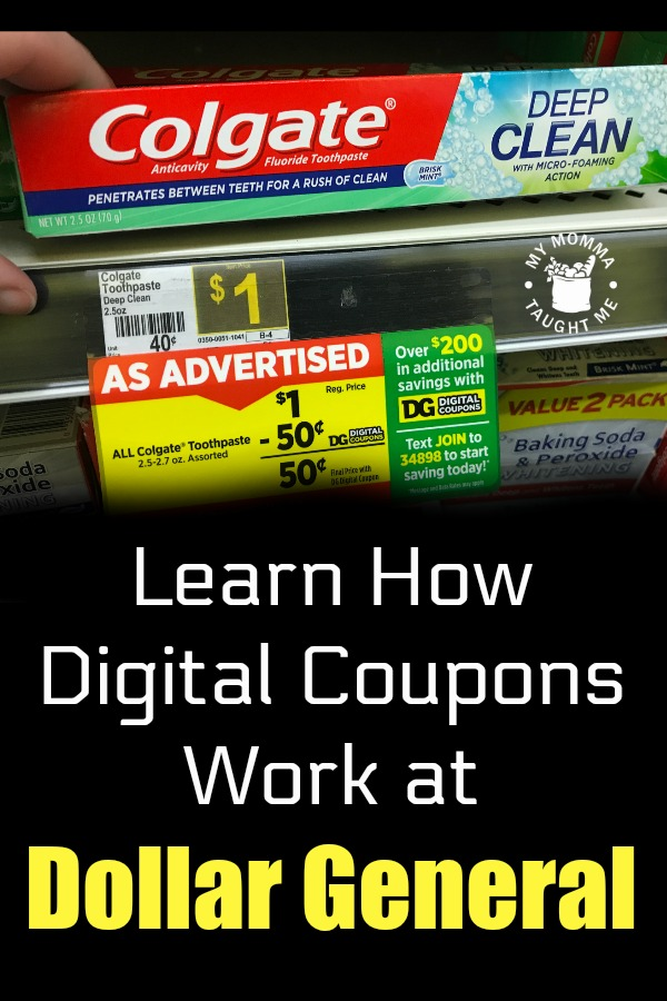 Learn How Dollar General Digital Coupons Work with these easy steps!