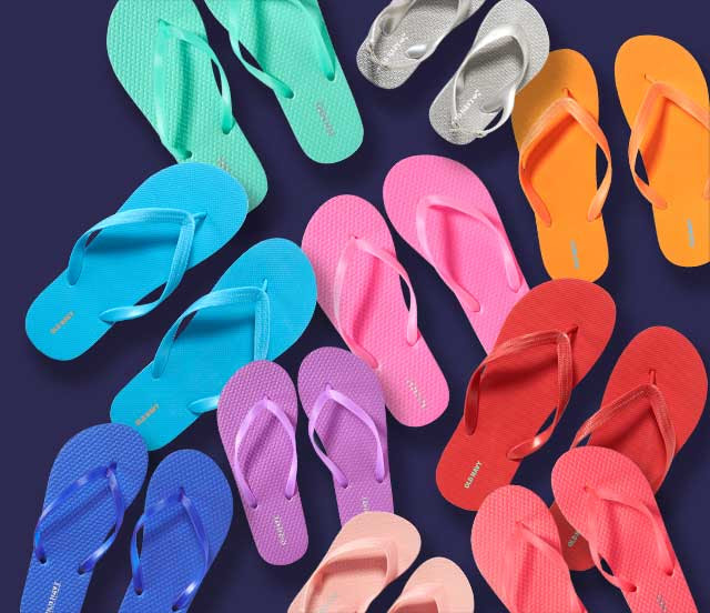 Old Navy's Popular Annual $1 flip-flop Sale is coming!