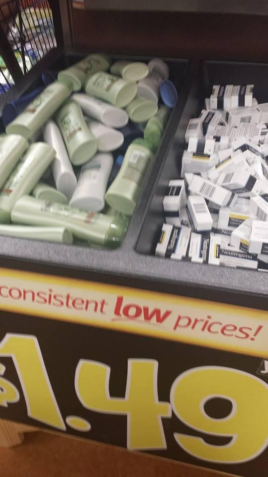 suave soap bin