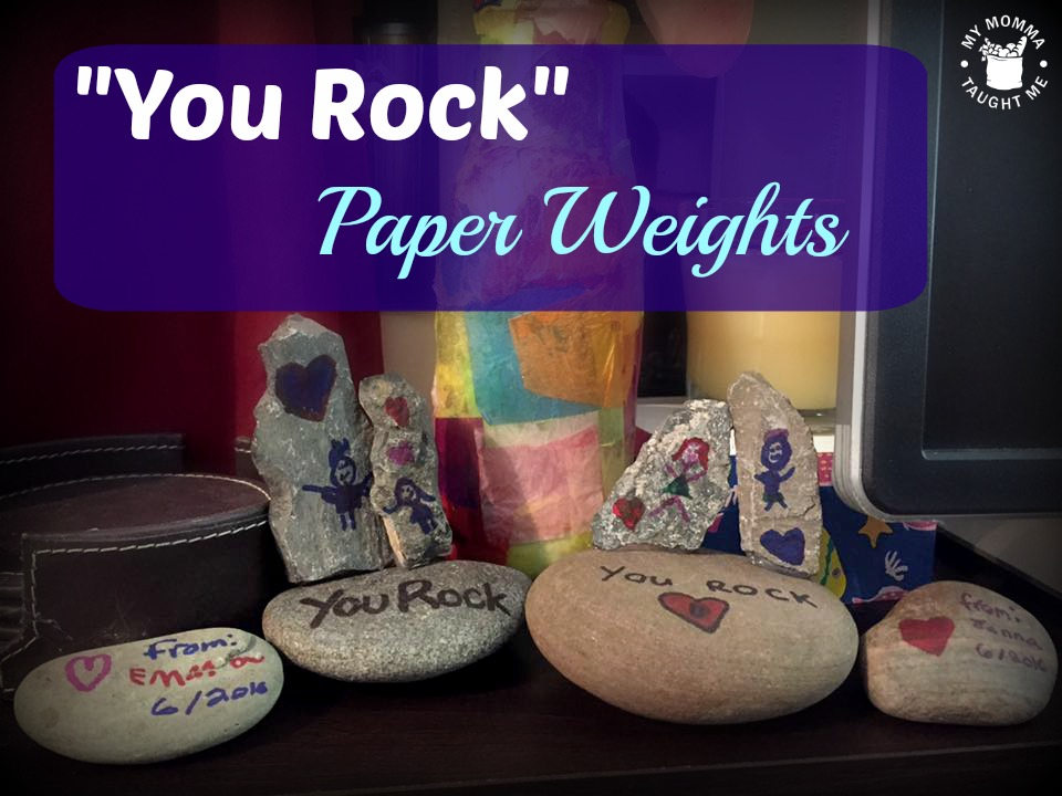 you rock paper weights