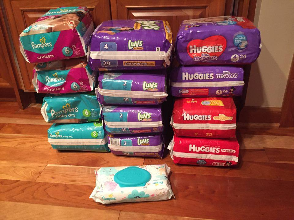 shop online amazon for baby diapers and wipes
