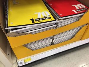 notebook target