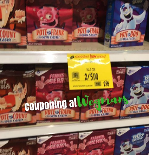 General Mills Boo Berry & Franken Berry Cereal Only $1.00