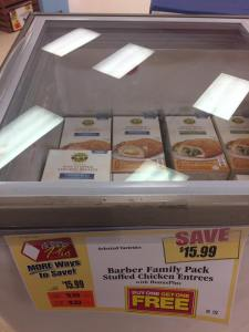 Barber Entrees Family Pack BOGO At Tops Markets