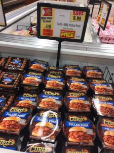 Curlys BBQ Pulled Pork BOGO At Tops Markets