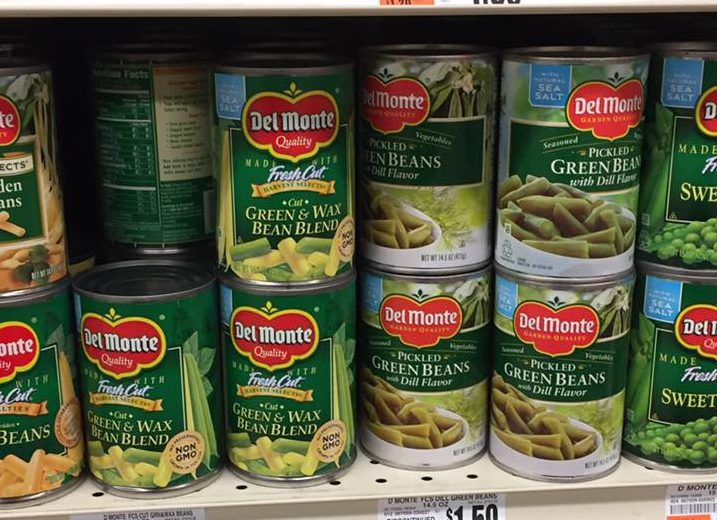 Del Monte Clearanced At Tops Markets