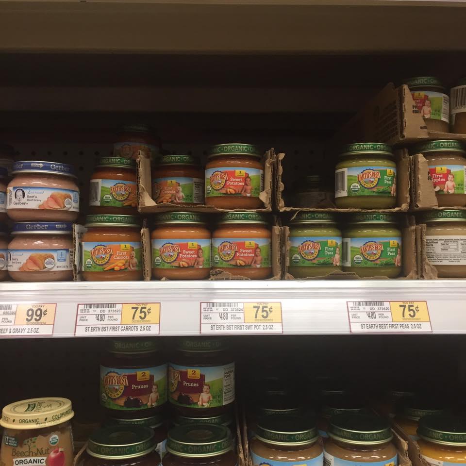 Earths Best Baby Food At Wegmans