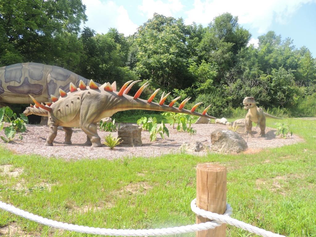 Dinosaur At Dorney Park 3
