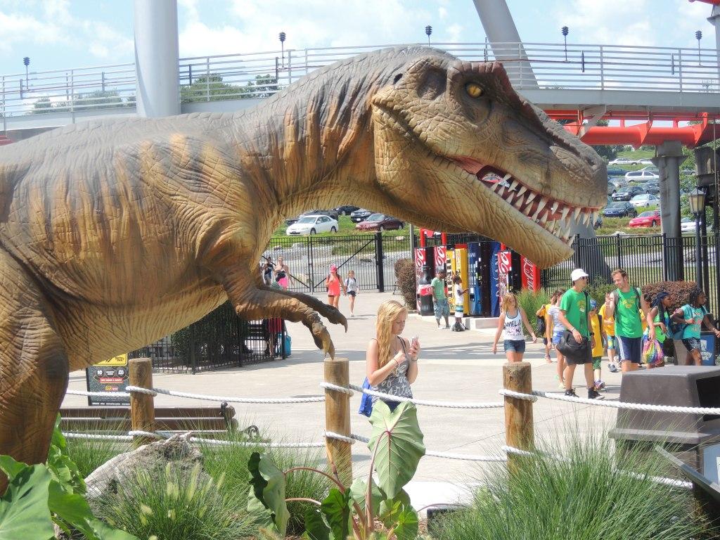 Dinosaur At Dorney Park