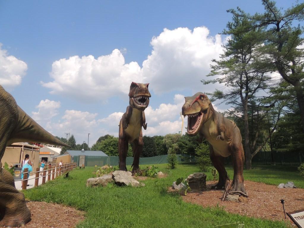 Dinosaurs Live Dorney Park 5