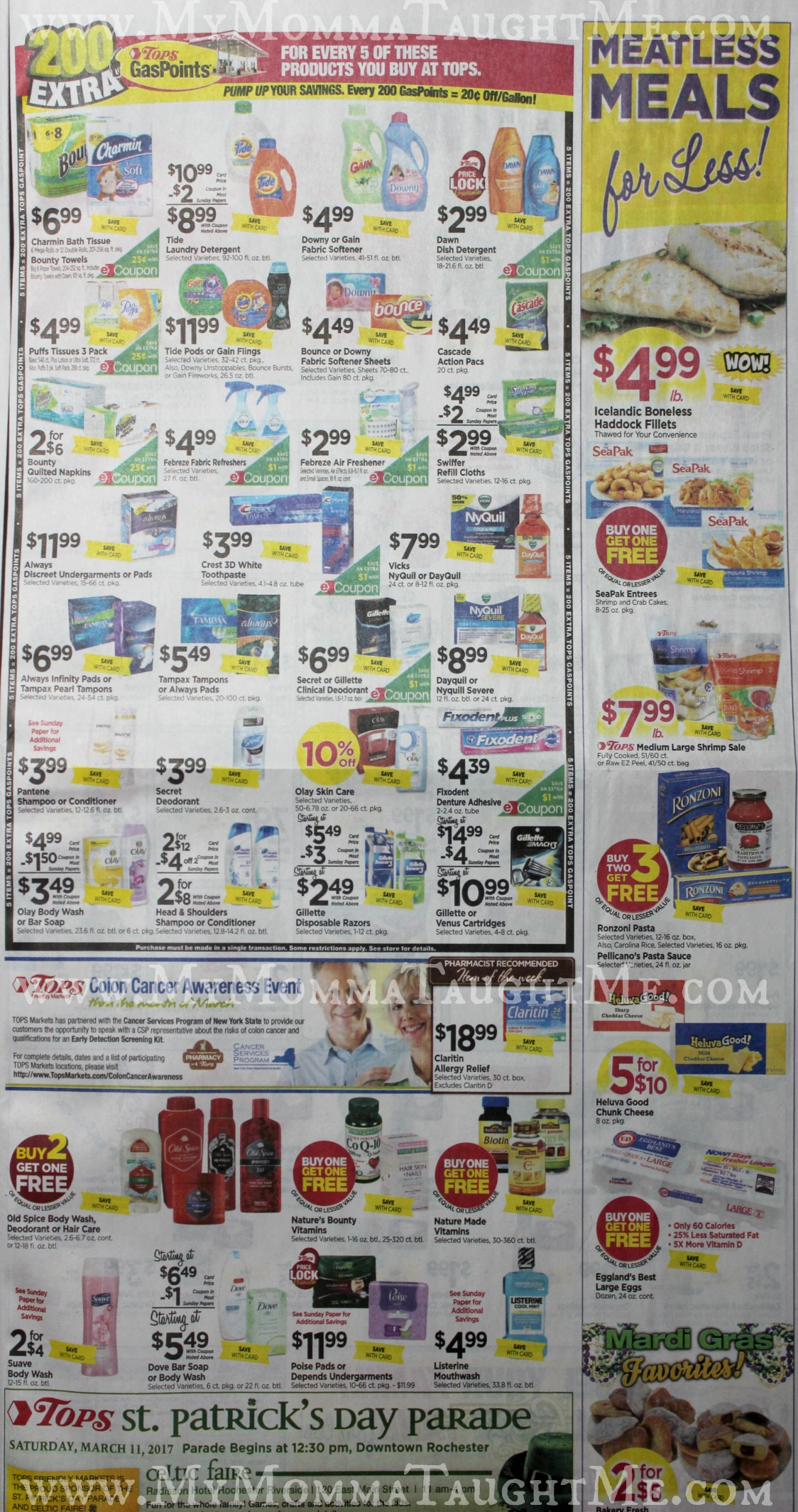 Tops Markets Ad Scan Week Of 2 26 17 To 3 4 17 Page 7