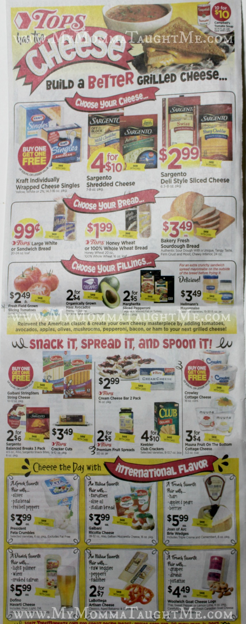 Tops Markets Ad Scan Week Of 2 26 17 To 3 4 17 Page WB