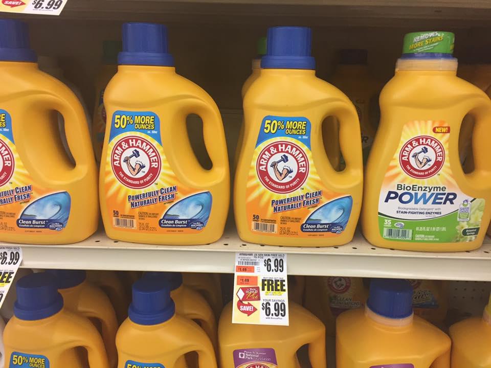 Arm 7 Hammer Detergent Bogo At Tops Markets