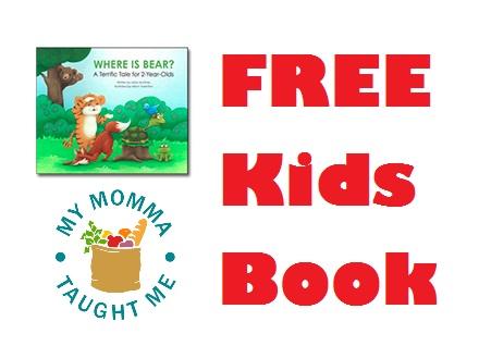 Free Kids Book Where Is Bear