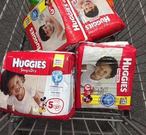 Stock Up on Huggies Diapers