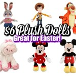 $6 Plush Dolls At Disney Store