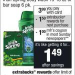 Irish Spring Body Wash Deal At Cvs