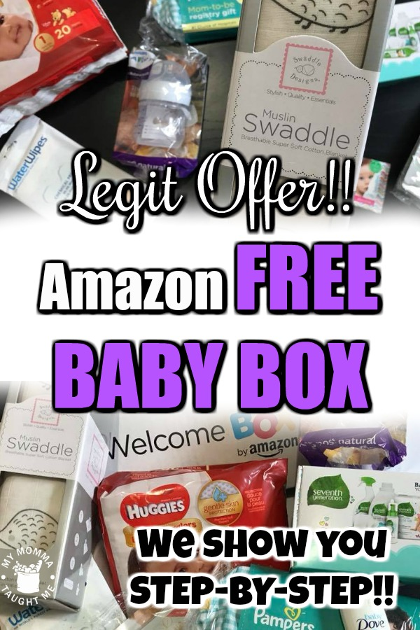 Legit Offer! We Show You STEP BY STEP How To Get An Amazon FREE Baby Welcome Box!