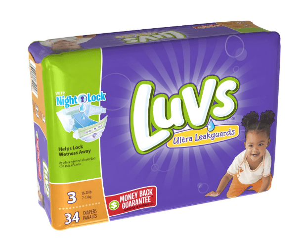 Luvs Diapers from Jet.com