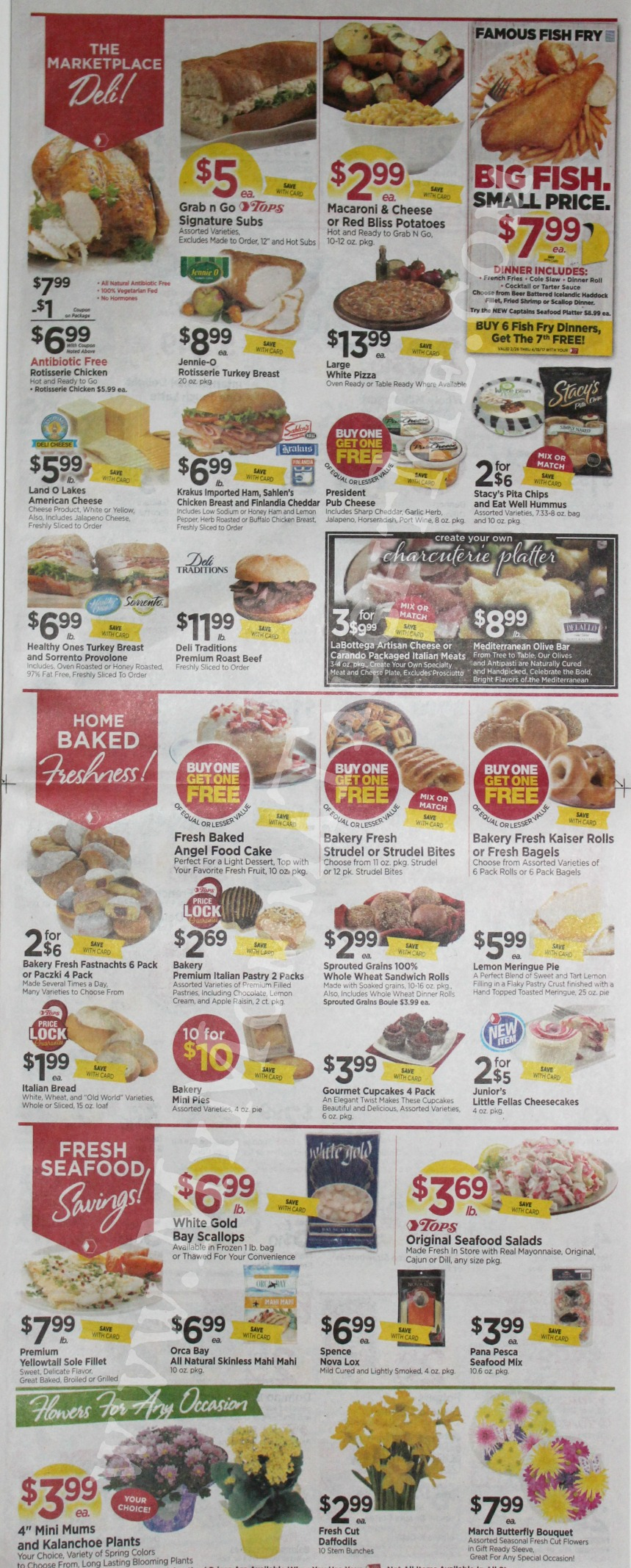 Tops Markets Ad Scan Week Of 3 19 17 To 3 25 17 Page 3