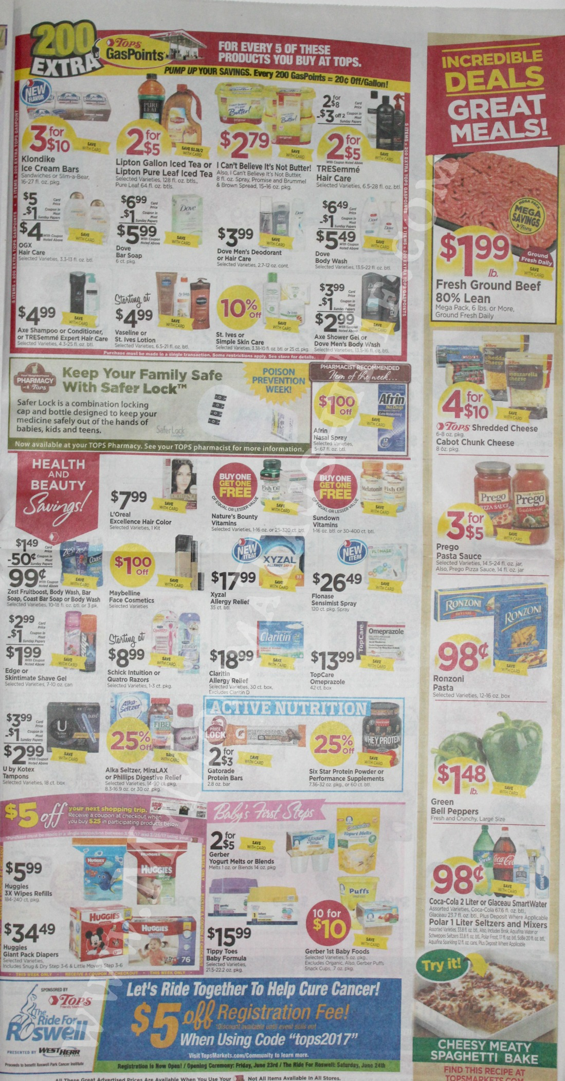 Tops Markets Ad Scan Week Of 3 19 17 To 3 25 17 Page 7