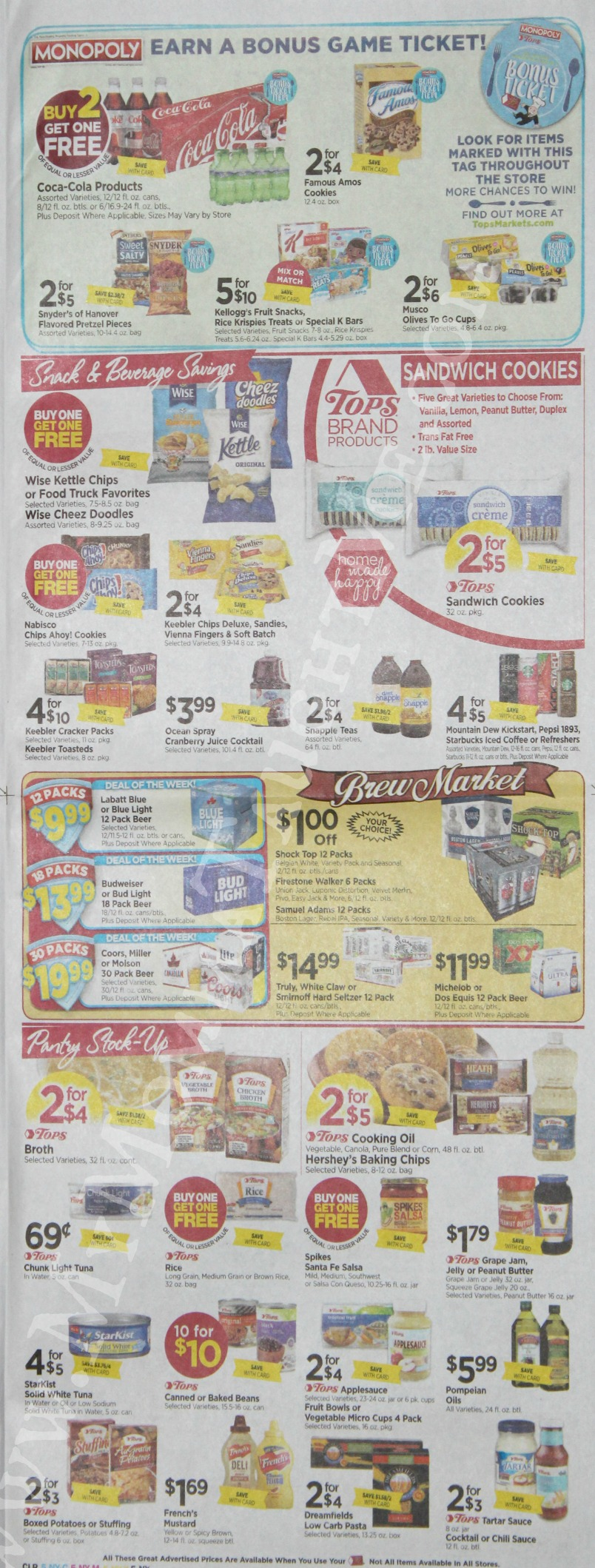 Tops Markets Ad Scan Week Of 3 26 17 To 4 1 17 Page 5