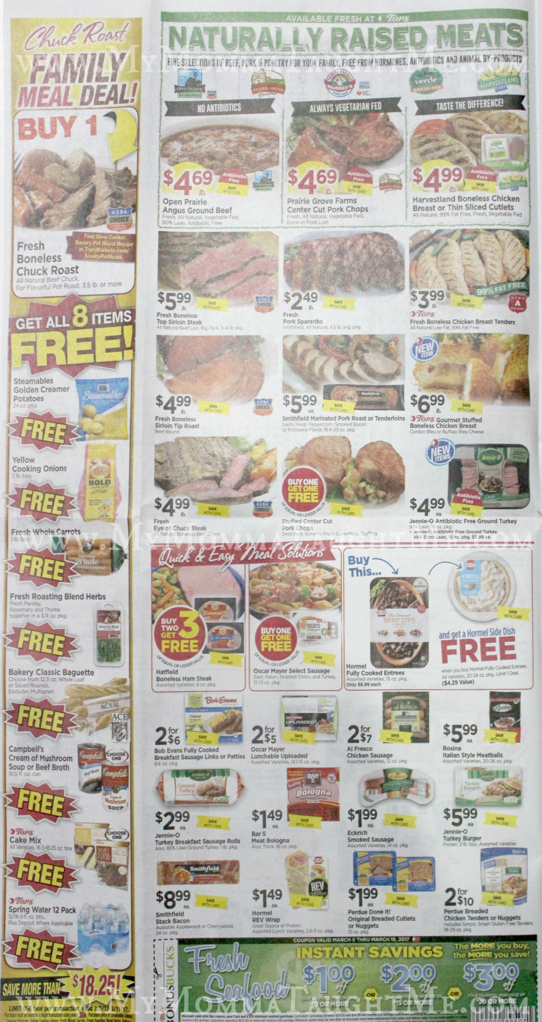 Tops Markets Ad Scan Week Of 3 5 17 To 3 11 17 Page 2